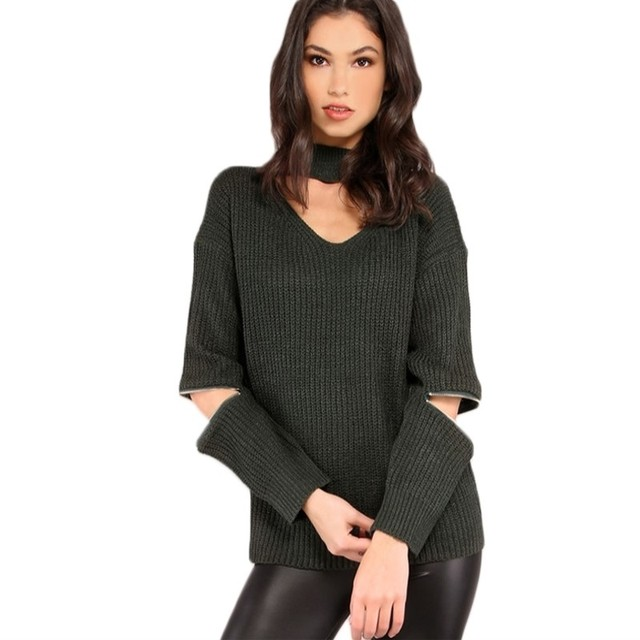 Sweater Pullover Women Feminino Women Sweaters And Pullovers Solid