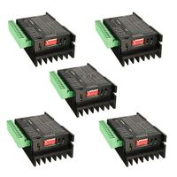 5PCS CNC Single Axis 4A TB6600 Stepper Motor Drivers Controller