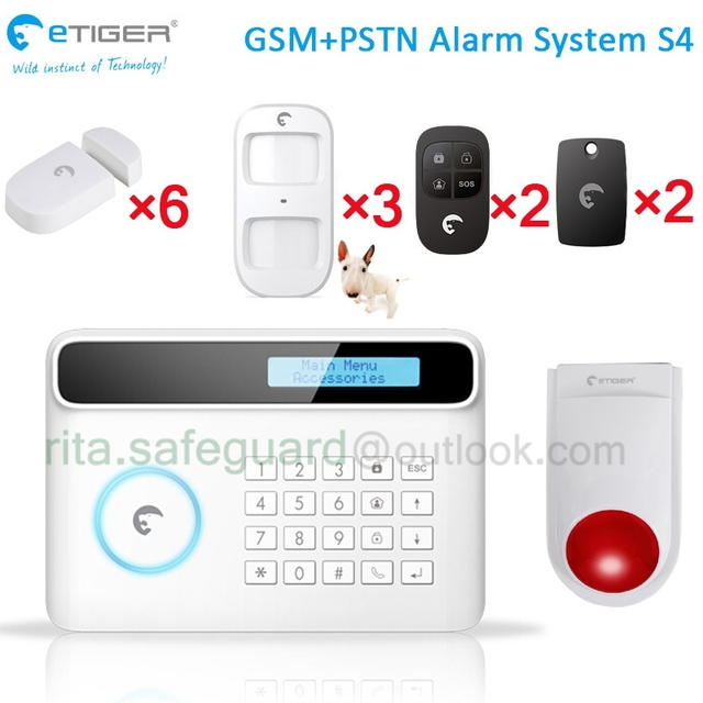 Review 433Mhz big size screen gsm house security alarm system multi language smart home kit with - Cool outdoor motion sensor alarm Lovely