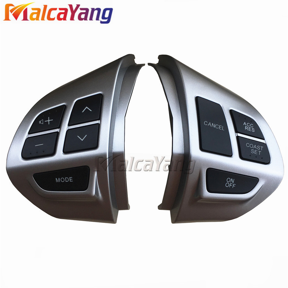 Car -styling buttons FOR Mitsubishi ASX Multi-function Car steering wheel control buttons with cables Free shipping(China)