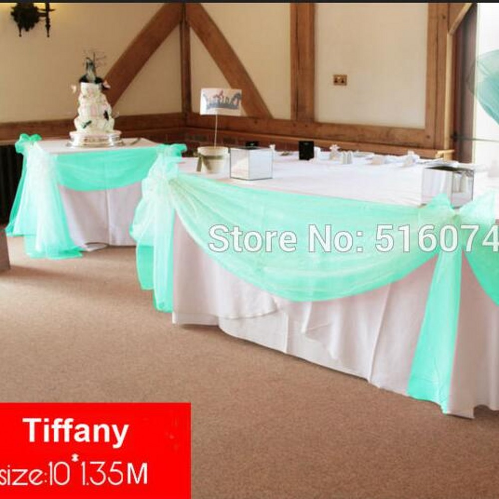 Turquoise And White Wedding Decorations Popular Wedding Swag Buy Cheap Wedding Swag Lots From China