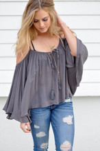 2017 Summer New Pure Color V neck With Ultra Short Jacket Loose Off the shoulder Condole