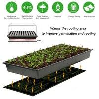 Электрический рассады тепла коврики семена растений прорастание распространения клон Starter Pad рептилия завод гидропоники грелка