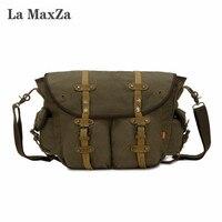 La MaxZa Canvas Bag Canvas Bag Casual Shoulder Messenger Men S Bag