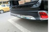 High quality ABS Chrome Rear bumper Scuff trim for 2015 2016 2017 for Toyota Highlander