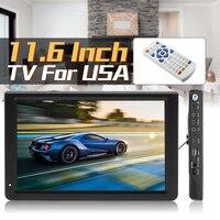 11.6 Inch HD Digital Analog LED TV Player 16: 9 Portable Smart TV Television Player 1080P DVB T T2 TFT LED Screen USB/AV/TF/ MP3