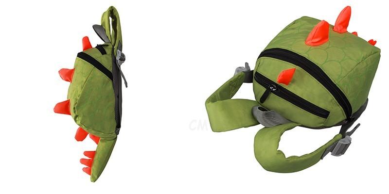 Dinosaur Anti lost backpack for kids Children Backpack aminals Kindergarten School bags for 1-4 years 4