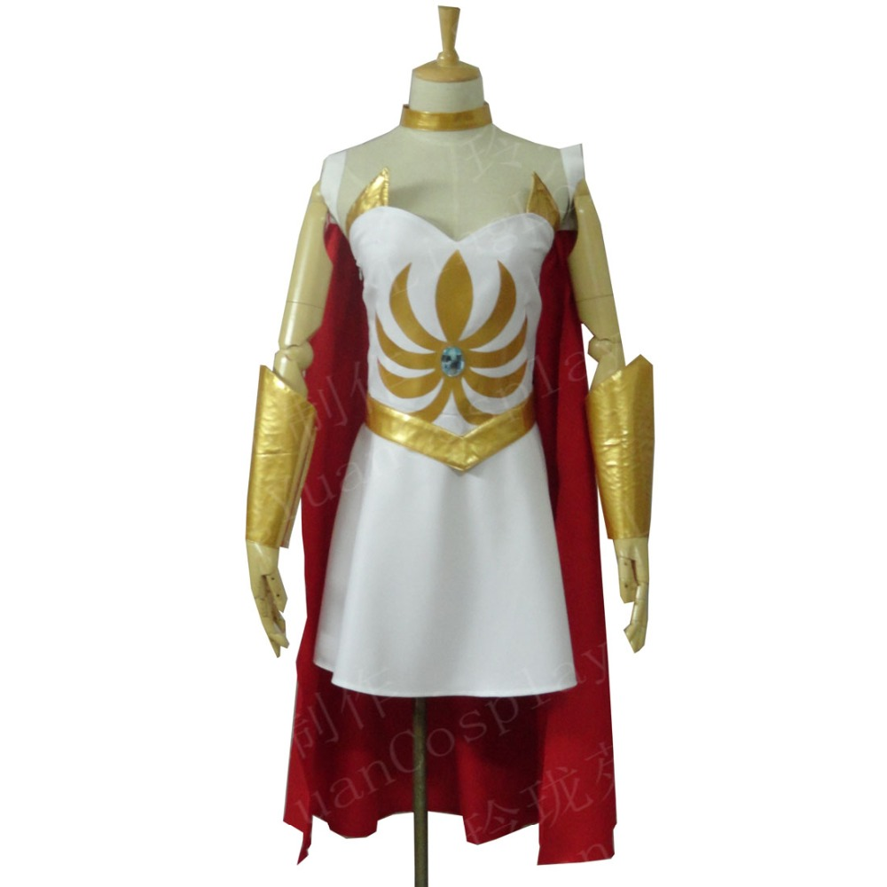 2019 Halloween New Women She Ra Princess of Power She Ra Dress Costume Cosplay Adult High Quality Deluxe High Quality Custom Mad