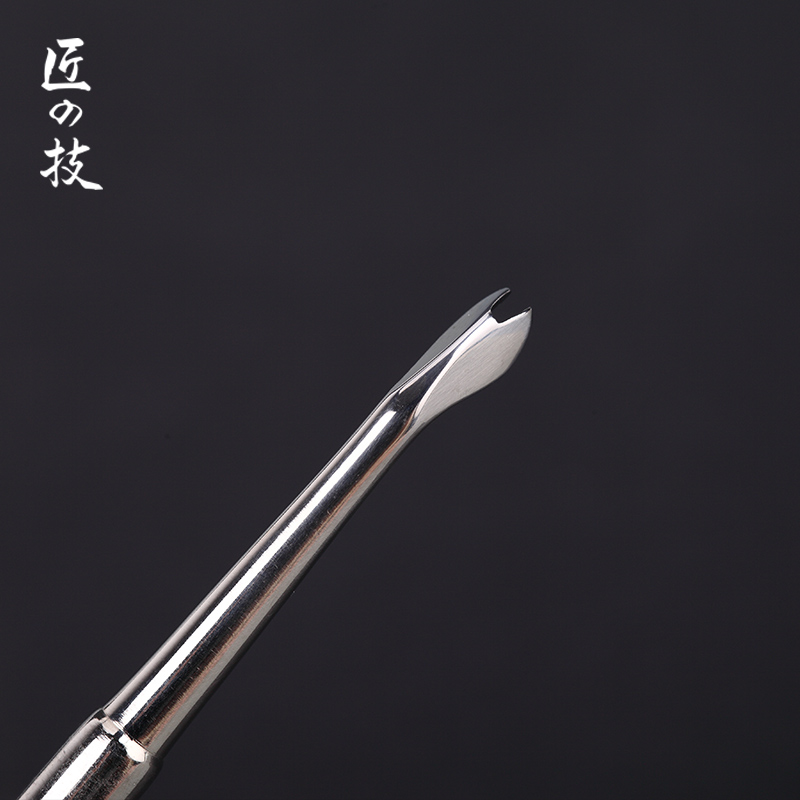 Stainless Steel Cuticle Remover Double Sided Finger Dead Skin Push Nail Cuticle Pusher Manicure Pedicure Care Tool высокоэффективный удалитель кутикулы stop cuticle iq beauty