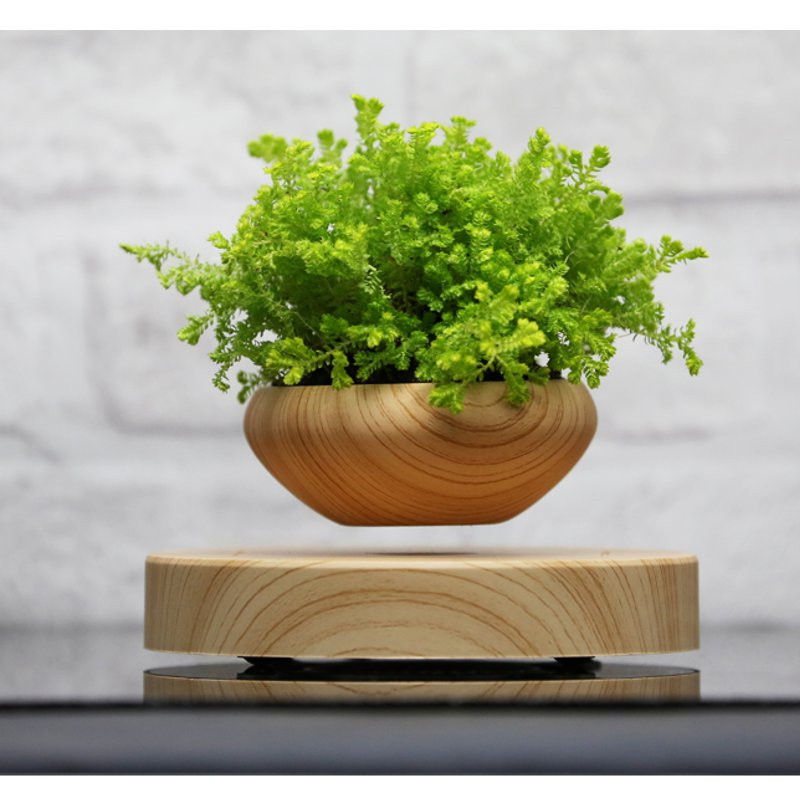 Magnetic Levitation Air Bonsai Suspension Flower Pot Potted Plant Novelty Gifts Durable Quality