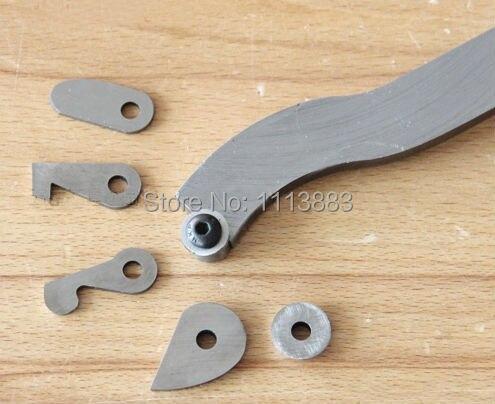 Купить с кэшбэком 6PCS Interchangable HSS Cutter Hollow Woodturning Tool Gouge 2031