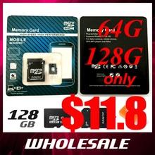 black micro sd card TF card 64gb class 10 Real capacity 4GB 8GB 16GB 32GB 64GB 128GB memory card for Phone Tablet Camera