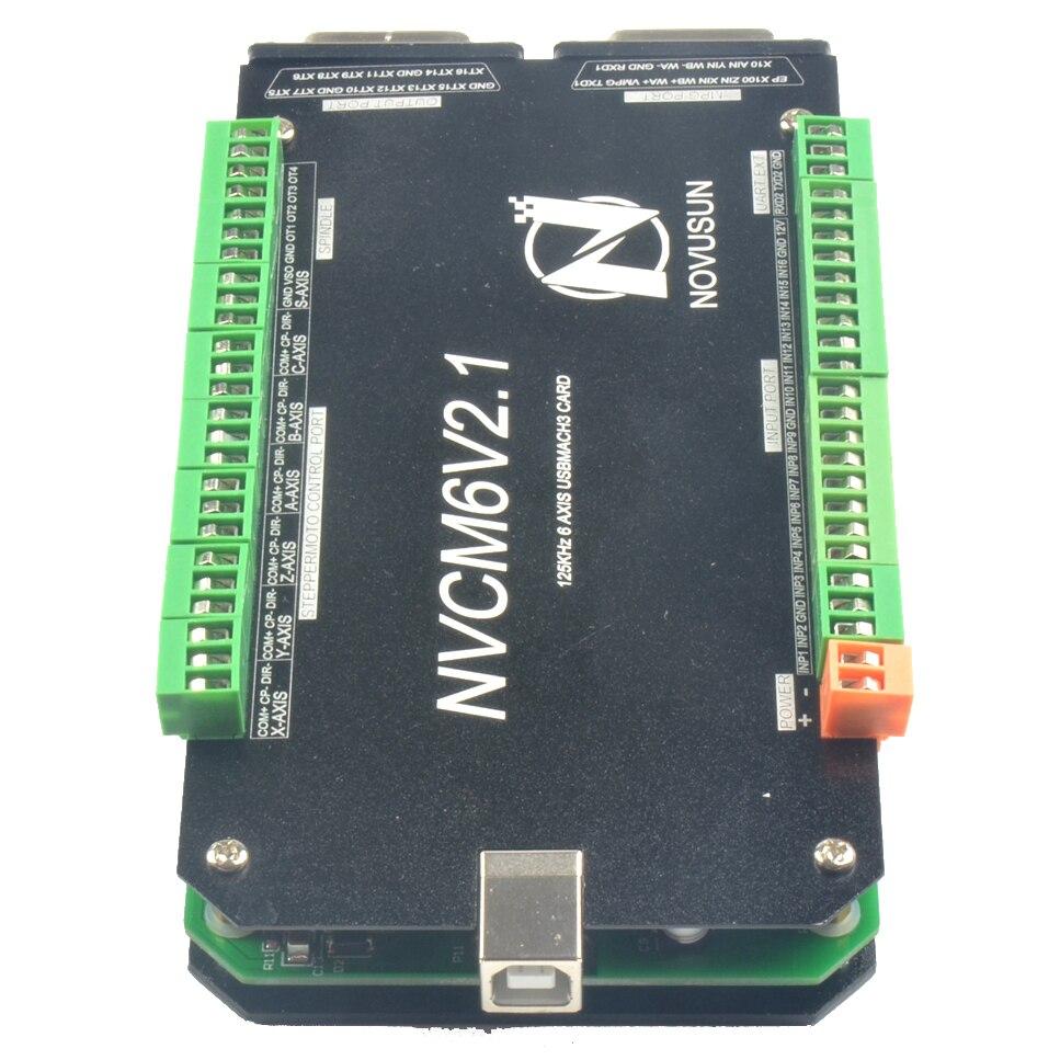 HOT SALE] 6 Axis NVCM Mach3 USB Port 125KHz Stepper Motor