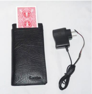 Echangeur de cartes portefeuille électronique-tour de magie, accessoires, accessoires de magie de scène, gros plan, mentalisme, Illusions