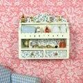 1:12 Casa de Muñecas de Baño Colgando Gabinete ~ De Madera Muebles de casa de Muñecas En Miniatura Accesorios
