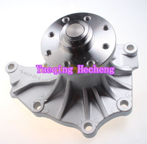 Water Pump For Excavator 70Z 80NX-3 new fuel feed pump for 6bd1 pc220 3 pc200 3 excavator