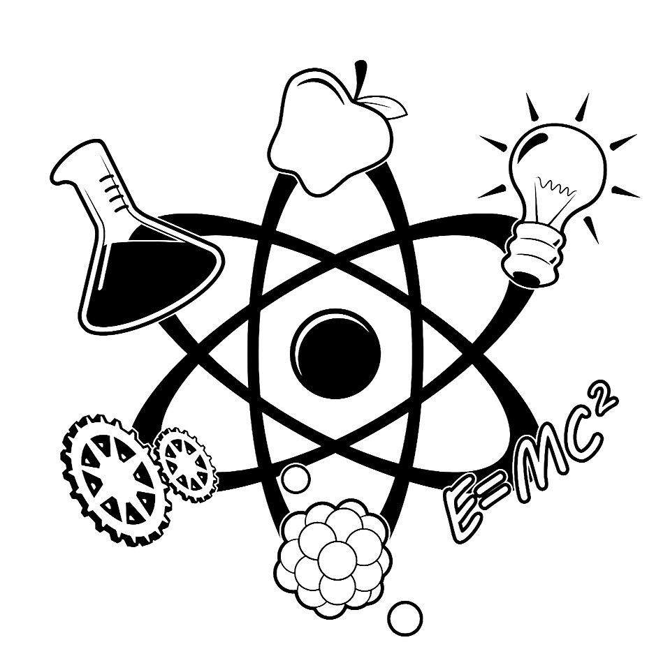 Science Atom Vinyl Decal