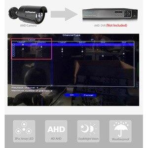 Image 3 - Камера видеонаблюдения, 4 канала, 1200TVL, AHD, только 4x1080P, 2 МП