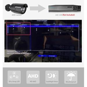 Image 3 - 4CH 1200TVL セキュリティカメラシステム AHD CCTV システム Diy キットは 4 × 1080 1080P 2.0MP セキュリティカメラ Ir 屋外 AHD H 監視セット