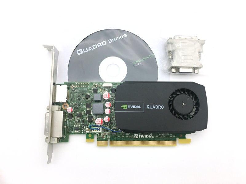 Carte graphique Quadro 600 Q600 Quadro600 1 GB carte graphique professionnelle dessin/rendu/modélisation processeur 96 flux