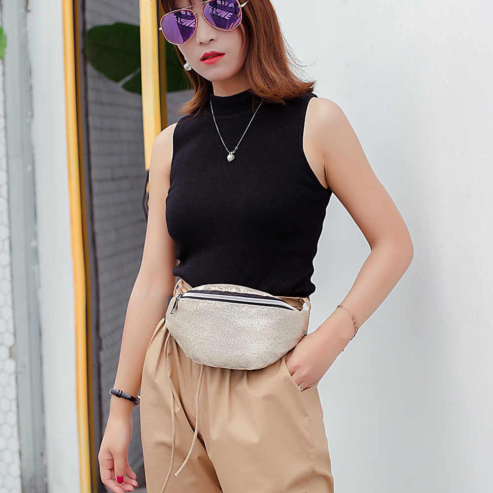 Saco de Ombro da forma Das Mulheres de Bling Lantejoulas Bolsas de Ombro Mulheres Saco Do Mensageiro Das Mulheres de Couro Saco de Peito 2019