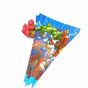 1 комплект Мстители баннер 2,5 м маленькие флаги вымпел тема ребенок вечеринка для мальчика день рождение поставки мультфильм украшения