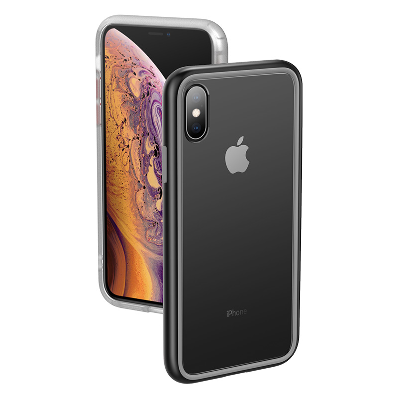 Conelz For iPhone X XS Case Protective Back Case Cover Shockproof Hybrid Phone Case PC TPU Case for iPhone XR XS MAX in Fitted Cases from Cellphones Telecommunications
