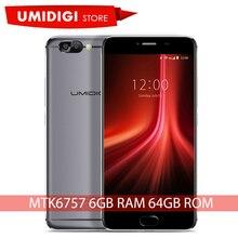 Umidigi Z1 MT6757 Восьмиядерный 2.3 ГГц разблокирована оригинальный новый телефон 6 ГБ ОЗУ 64 ГБ ROM Тип C марка порт мобильного телефона