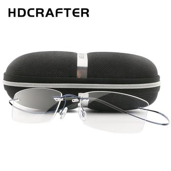 HDCRAFTER Lightweight Titanium Eyeglasses  2