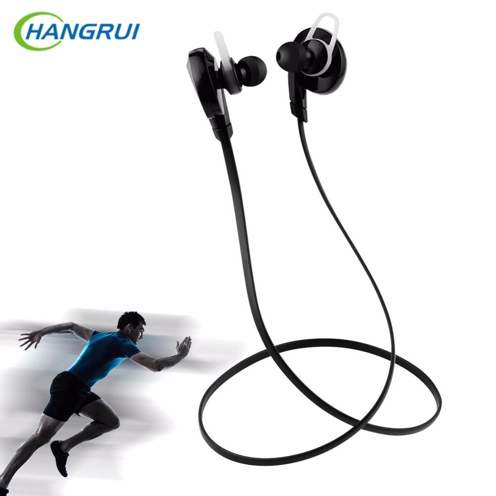 HANGRUI H7 Bluetooth Earphone In-ear Wireless Earphones Stereo earbuds Sports Bluetooth Headset For Iphone 7 6 Xiaomi SmartPhone
