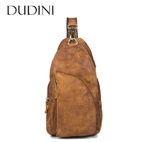 DUDINI Handmade Design Men Messenger Bags 3 Colors Genuine Leather Men S Crossbody Bag Vintage