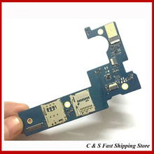 New Original For Lenovo B8080 SIM Card Reader Holder Connector Slot Flex Cable Replacement Parts