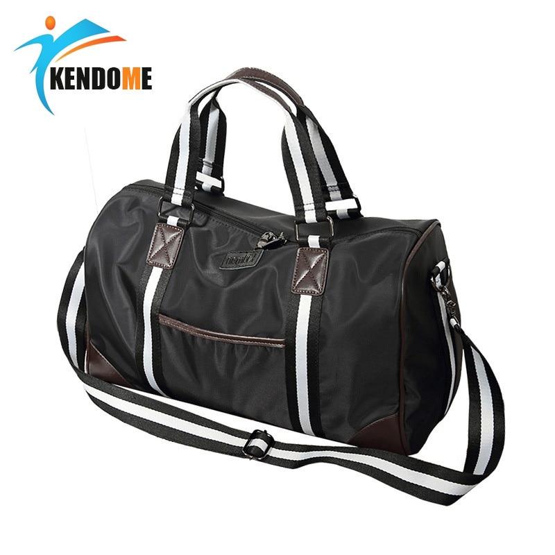 Access Control Reasonable Waterproof Oxford Cloth Large Capacity Fitness Gym Bag Men Women Travel Handbags Training Shoulder Yoga Sports Duffles Bags Large Assortment Electric Lock