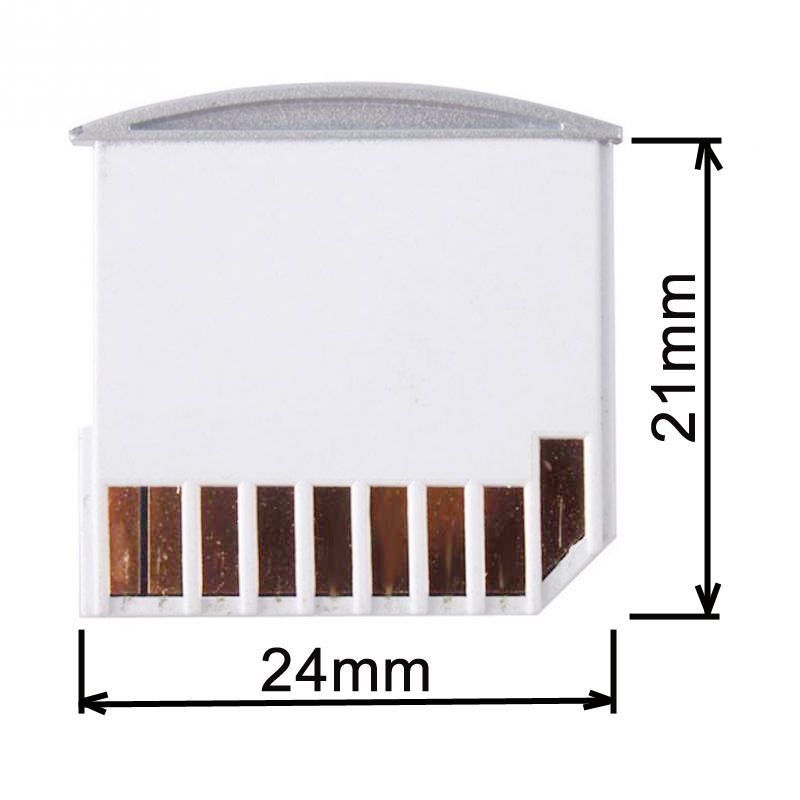 10pcs/lot Micro SD TF To SD Card Kit Mini Adaptor For Latpop Card Reader Extra Storage Air Pro