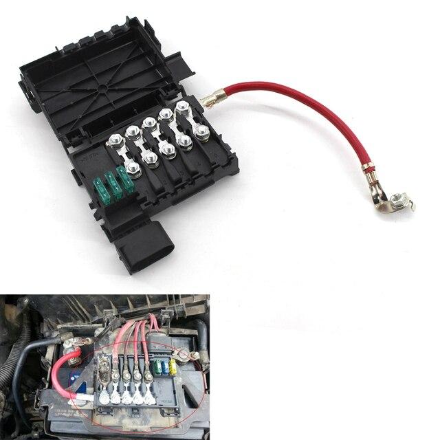 Для VW Jetta Golf Mk4 Жук предохранителей Батарея терминал 1J0937550A/B