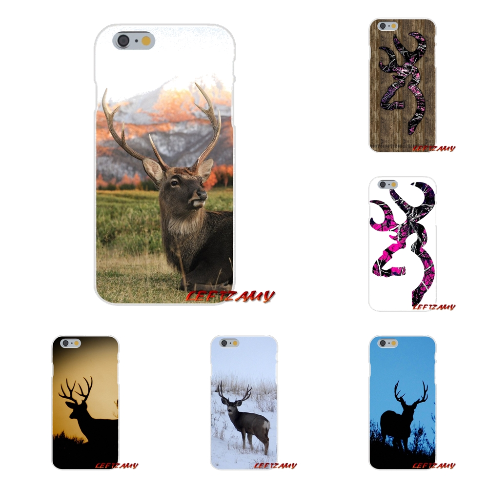 Browning Hunting Deer Head Accessories Phone Shell Covers For Samsung Galaxy S3 S4 S5 MINI S6 S7 edge S8 S9 Plus Note 2 3 4 5 8