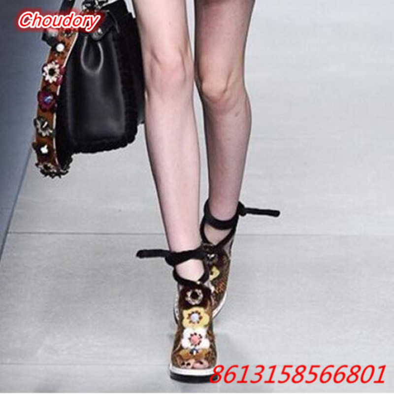 2017 Ethic style Sexy Open Toe Ankle Strap Sandals for font b Women b font Platform