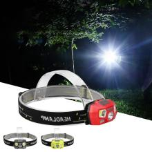 head light USB Rechargeable Mini LED Headlamp Induction Headlight Band For Outdoors Camping headlamp rechargeable