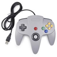 2 Packs Wired USB PC Joystick Bit USB Wired Game Stick Controller for Windows PC MAC Linux Classic N64 Gamepad Controller iNNEXT