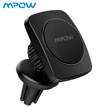 Mpow Magnetic Car Phone Holder Max Bearing Capacity 200g 360Degree Rotation Universal Air Vent Mount For iPhone X/8/7