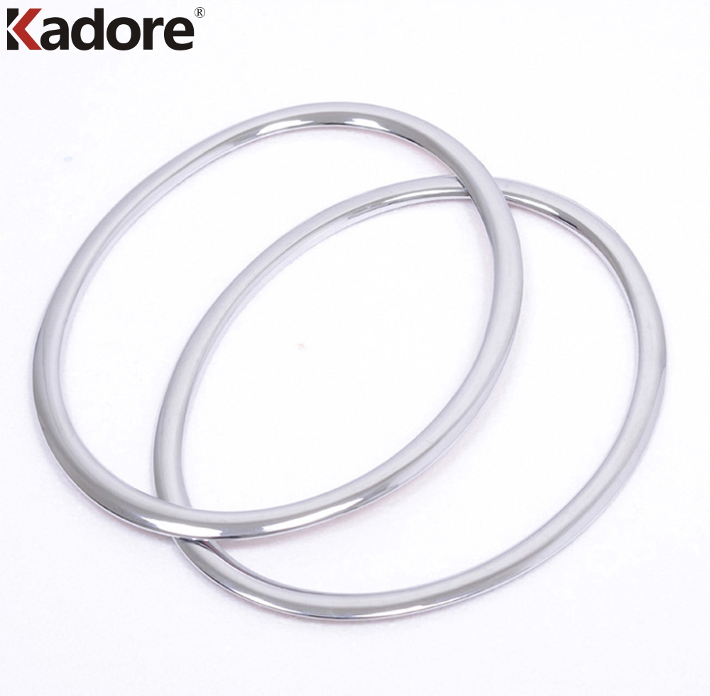 Fit For Nissan Juke F15 2010 2011 ABS Chrome Head Light Lamp Cover Front Headlight Cover Trim Cover Car Styling Auto Accessories