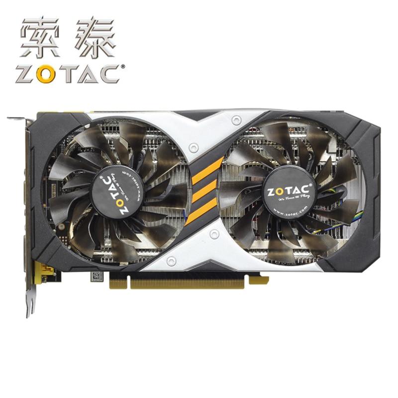 Cartes graphiques d'origine ZOTAC GeForce GTX950-2GD5 dévastateurs HA/HB 128Bit GDDR5 cartes graphiques GTX950 2GD5 carte GTX 950 2G Hdmi