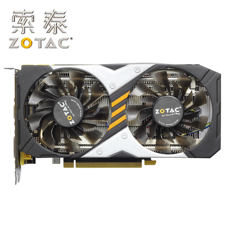 Original ZOTAC Video Card GeForce GTX950-2GD5 Devastators HA / HB 128Bit GDDR5 Graphics Cards GTX950 2GD5 Map GTX 950 2G Hdmi