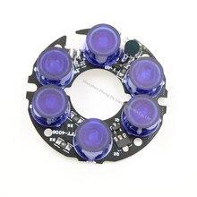 Аксессуары системы видеонаблюдения Nano инфракрасного 6 зерна IR LED доска для наблюдения ночного видения диаметр 45 мм