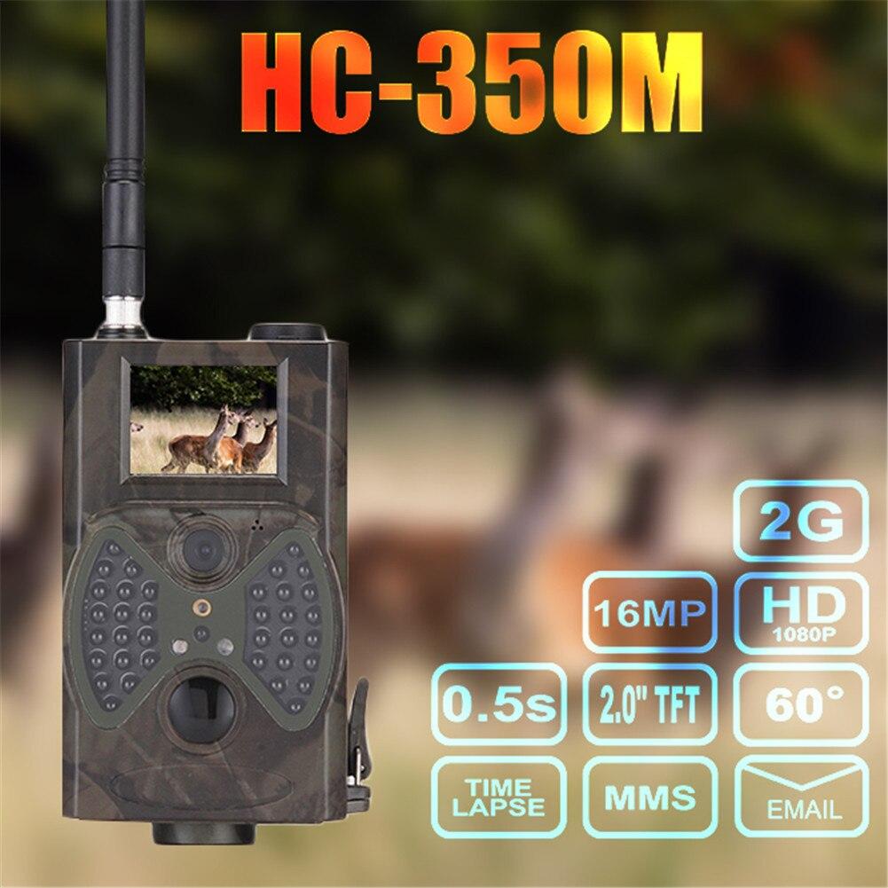 HC-350M охоты Камера 2 г HD 1080 P 16MP SMS MMS SMTP 60 градусов Скаутинг инфракрасный дикой природы для охоты Камера ...