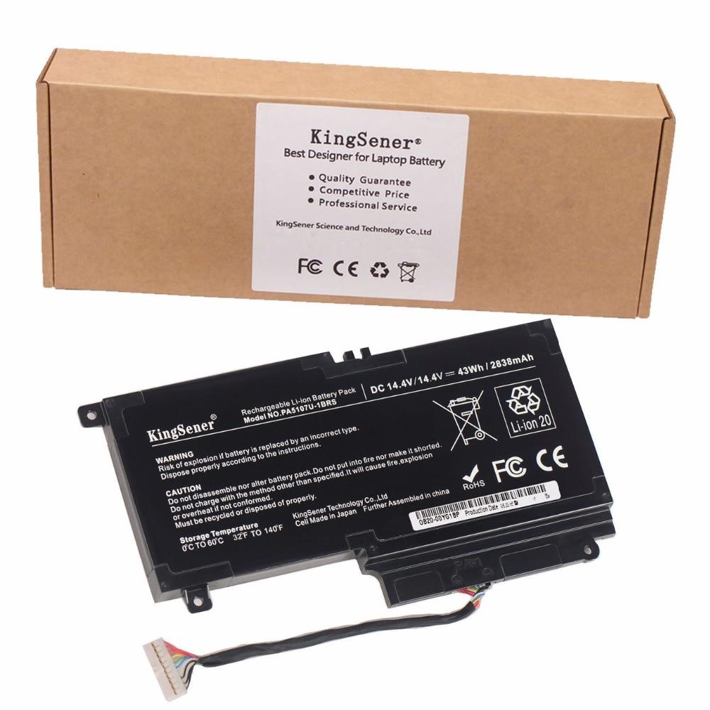 KingSener PA5107U PA5107U-1BRS Battery for Toshiba Satellite L45 L45D L50 S55 P55 L55 L55T P50 P50-A P55 S55-A-5275 S55-A5294 nokotion sps v000198120 for toshiba satellite a500 a505 motherboard intel gm45 ddr2 6050a2323101 mb a01