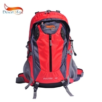 Desert&Fox 40L Outdoor Mountaineering Backpack, Waterproof,Lightweight,Camping Hiking Trekking And Bike Bags 3 color.