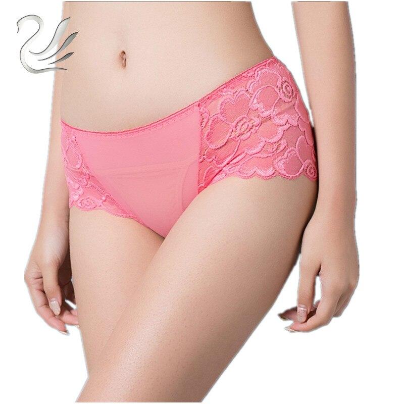Women Underwear Briefs Sexy Women's Panties Full Transparent Lace Seamless String Plus Size Sexy Women Underwear Panty