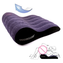 TOUGHAGE New wedge Inflatable Sex furniture adult bdsm Sex sofa chair pillow for sex Couple Sex love cushion swing furniture top quality toughage brand pf3203 inflatable adult sex furniture chair sex pillow wedge inflatable sex sofa chair ball sofa bed