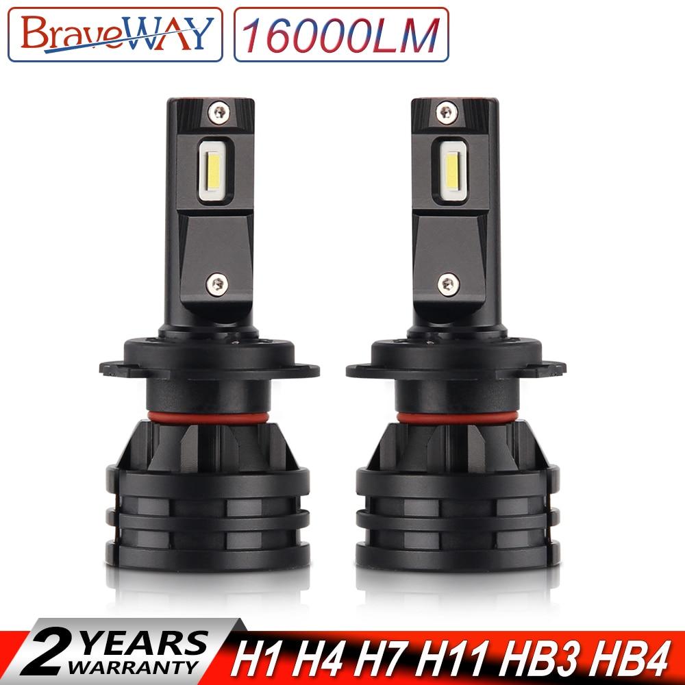 BraveWay 2019 New Car Lights Led H7 16000LM H11 LED font b Lamp b font for
